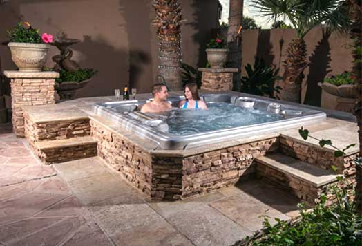 Jacuzzi Outdoor Above Ground Yards